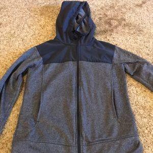 adidas jacket size medium barely worn dark blue